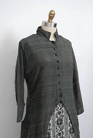 Wolfgang Grey Washed Silk
