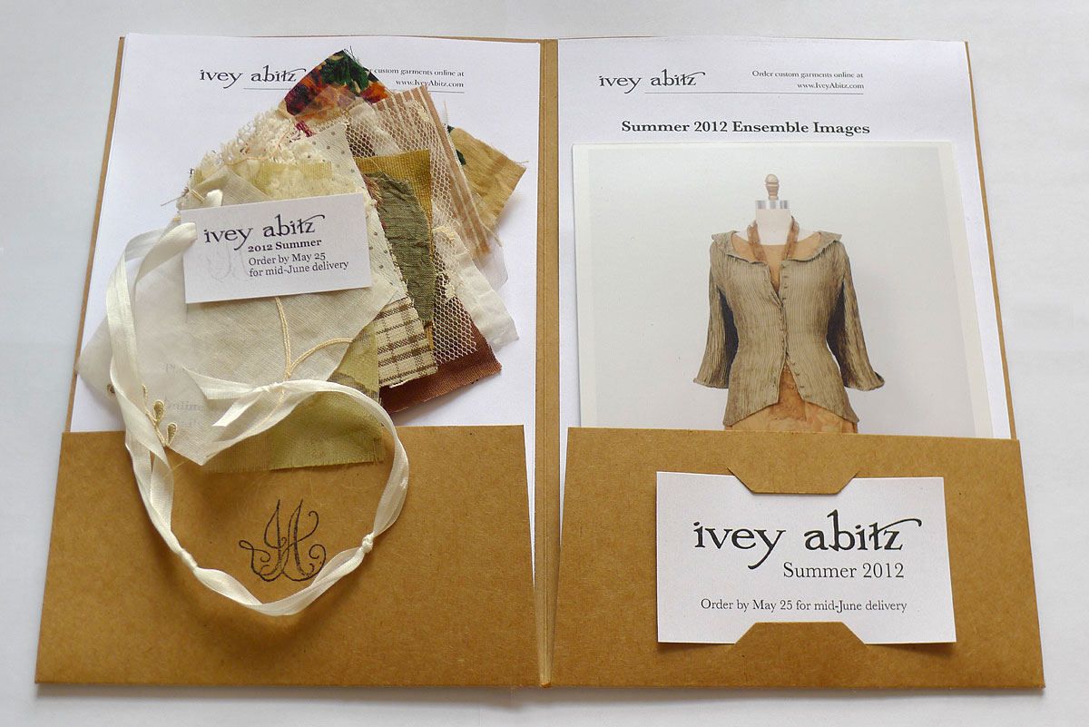 Ivey Abitz Summer fabric swatch portfolio