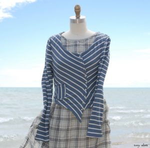 Gilbert Cardigan for summer by Ivey Abitz