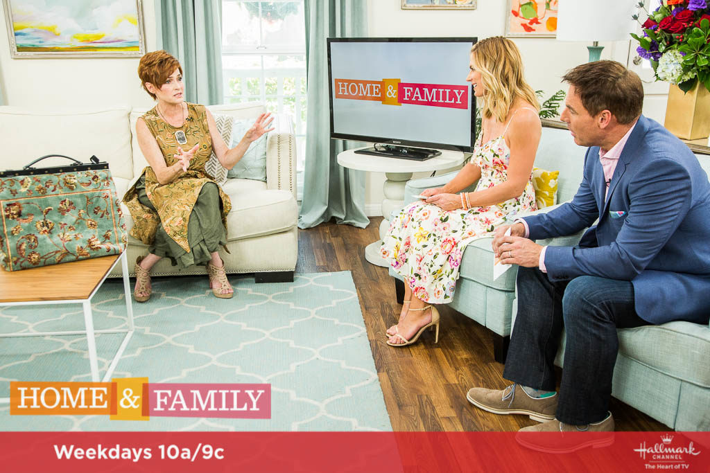 """Mark Steines and Debbie Matenopoulos welcome actors Debbie Allen, Erica Gimpel, Lee Curreri, and Carlo Imperato for the 35th anniversary of NBC's """"FAME."""" Erica and Lee treat us to a special performance. Actress and author Carolyn Hennesy joins us. Cookbook author Nguyen Tran cooks delicious garlic noodles. Debbie whips up the ultimate BLT sandwich. Ken Wingard has DIY water blobs. Paige Hemmis creates city lights decor. Orly Shani shows us DIY open hem jeans. Matt Iseman has tips and tricks for our lawn and garden. Dan Kohler breaks down the science of mold and food. Matt Rogers is here with cool camping products. Credit: © 2017 Crown Media United States, LLC 