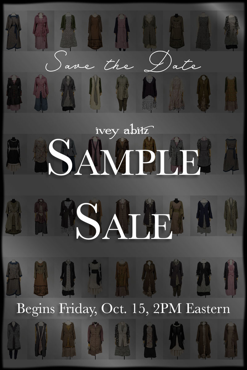 ivey abitz sample sale upcoming